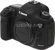 Зеркальный фотоаппарат CANON EOS 5D Mark III body, черный