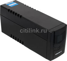 Источник бесперебойного питания IPPON Back Power Pro LCD 600 Euro, 600ВA [708219]