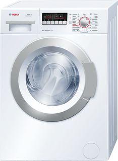 Стиральная машина BOSCH WLG20260OE, фронтальная загрузка, белый