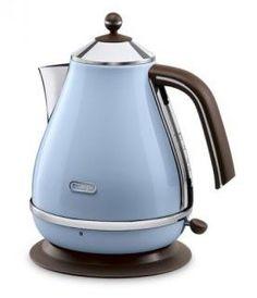 Чайник электрический DELONGHI KBOV2001.AZ, 2000Вт, голубой Delonghi