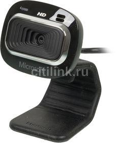 Web-камера MICROSOFT LifeCam HD-3000, черный [t3h-00013]