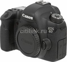 Зеркальный фотоаппарат CANON EOS 6D body, черный