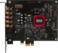 Звуковая карта PCI-E CREATIVE Sound Blaster Z SB1502, 5.1, oem [30sb150200000]