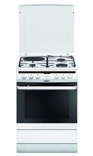 Газовая плита HANSA FCMW68040, электрическая духовка, белый