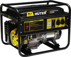 Бензиновый генератор HUTER DY6500L, 220 В, 5.5кВт