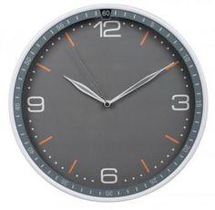 Настенные часы БЮРОКРАТ WallC-R06P, аналоговые, серый