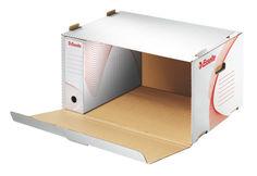 Короб архивный Esselte Standart 128910 картон с крышкой