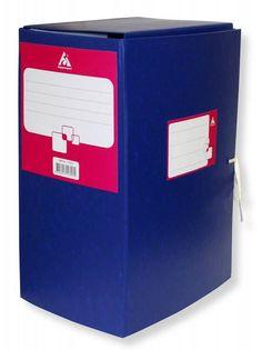 Короб архивный 2 завязки Бюрократ BKA-150 бумвинил корешок 150мм собранный A4 ассорти
