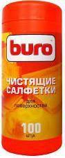 Влажные салфетки BURO BU-Tsurface