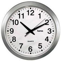 Настенные часы HAMA CWA100 H-92645, аналоговые, белый