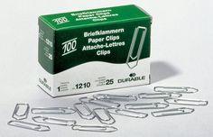 Скрепки Durable 1210-25 цинк оцинкованные домик 32мм (упак.:100шт) картонная коробка