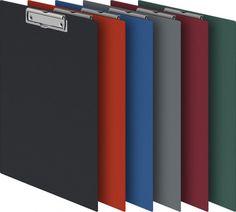 Папка-планшет Durable 4201-07 ПВХ синий прижим 35х23см