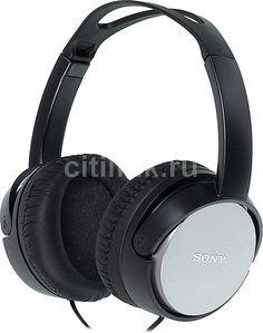 Наушники SONY MDR-XD150, мониторы, черный, проводные