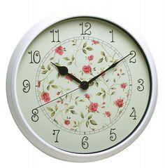 Настенные часы БЮРОКРАТ WallC-R23P, аналоговые, белый