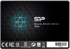 "SSD накопитель SILICON POWER Slim S55 SP240GBSS3S55S25 240Гб, 2.5"", SATA III"
