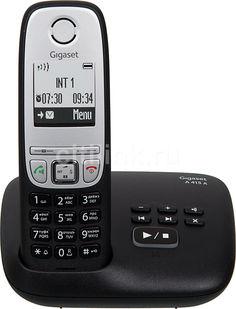 Радиотелефон GIGASET A415A, черный