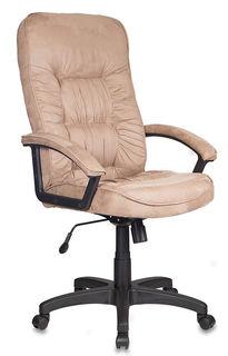 Кресло руководителя БЮРОКРАТ T-9908AXSN, на колесиках, микрофибра, светло-коричневый [t-9908axsn/mf103]