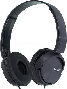 Наушники SONY MDR-ZX310, накладные, черный, проводные