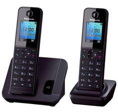 Радиотелефон PANASONIC KX-TGH212RUB, черный