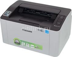 Принтер лазерный SAMSUNG SL-M2020W лазерный, цвет: серый [sl-m2020w/fev]