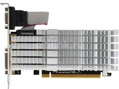 Видеокарта GIGABYTE nVidia GeForce GT 730 , GV-N730SL-2GL, 2Гб, DDR3, Low Profile, Ret