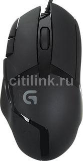 Мышь LOGITECH G402 оптическая проводная USB, черный [910-004067]