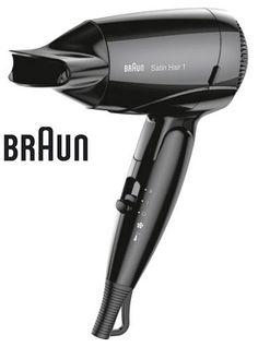 Фен BRAUN HD130, 1200Вт, черный