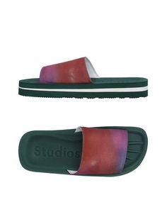 Домашние туфли Acne Studios