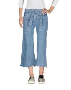 Джинсовые брюки-капри Victoria Victoria Beckham