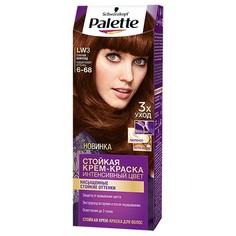 Крем-краска для волос `PALETTE` тон LW3 (Горячий шоколад)