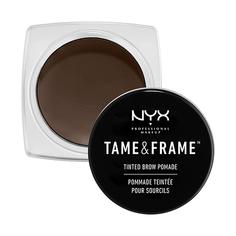 Помада для бровей `NYX PROFESSIONAL MAKEUP` TAME & FRAME BROW POMADE тон 04 Espresso