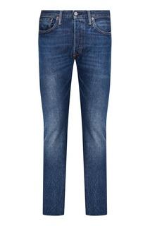 Синие джинсы с вареным эффектом 501® SKINNY Levi`S