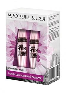 """Набор Maybelline New York Тушь для ресниц """"Lash Sensational"""", веерный объем, черная, 9,5 мл х2"""