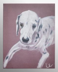 "Постер ""Gruzzly-dog"" Кристина Кретова"