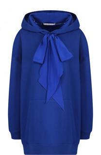 Хлопковая толстовка свободного кроя с капюшоном Givenchy
