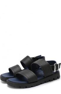 Кожаные сандалии Lanvin