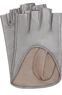 Кожаные митенки Sermoneta Gloves