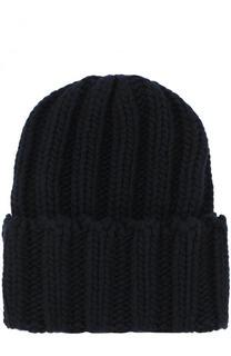 Кашемировая шапка фактурной вязки Inverni