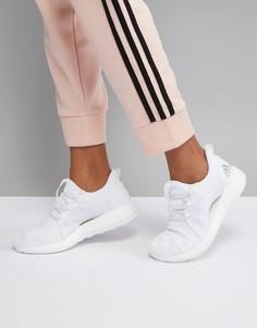 Женские белые кроссовки adidas PureBOOST X - Белый