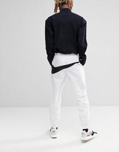 Белые джоггеры с большим логотипом Nike Vaporwave AJ2300-100 - Белый