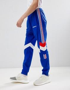 Синие суженные книзу джоггеры adidas Originals CE4854 - Синий