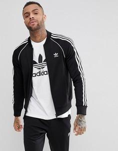 Черная спортивная куртка adidas Originals adicolor CW1256 - Черный