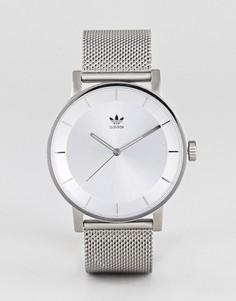 Серебристые часы Adidas Z04 District - Серебряный