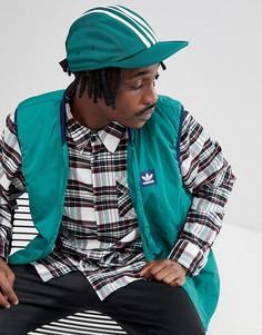 Зеленая 4-панельная кепка adidas Skateboarding CE2606 - Зеленый