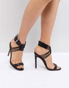 Босоножки на каблуке ASOS HURRICANE - Черный