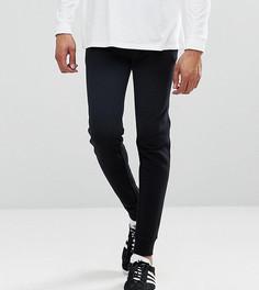 Черные облегающие джоггеры с карманами на молнии ASOS TALL - Черный