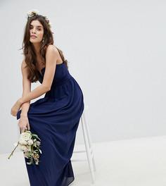 7632202b3be Длинные платья темно-синие – купить длинное платье в интернет ...