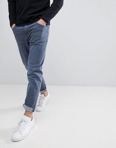 Суженные книзу синие джинсы ASOS - Синий
