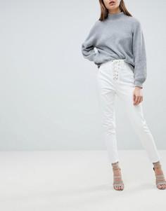 Джинсы со шнуровкой Ivyrevel - Белый