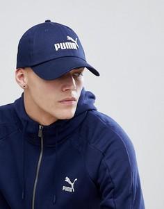 Темно-синяя кепка Puma 05291918 - Темно-синий